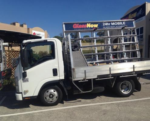 Glass Now truck gold coast
